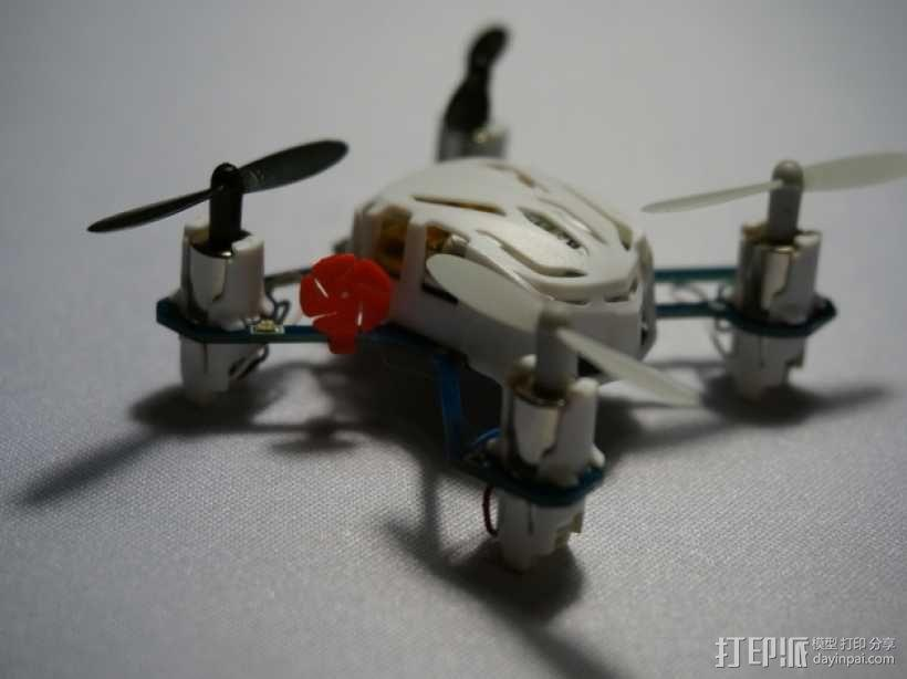 Estes Proto-x四轴飞行器 马达标签 3D模型  图1