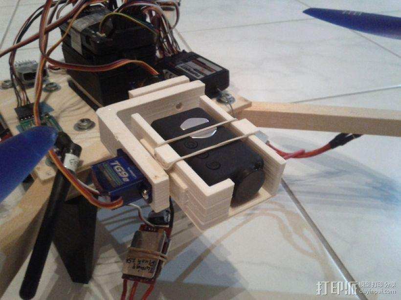 相机常平架 3D模型  图1
