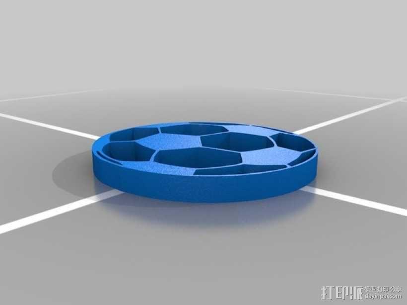 足球 杯托 3D模型  图2