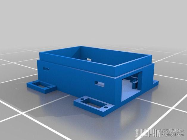 Gizmo四足机器人 3D模型  图3