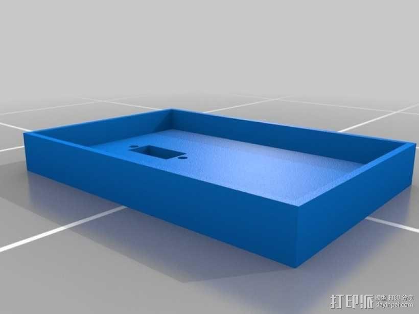 Gizmo四足机器人 3D模型  图6