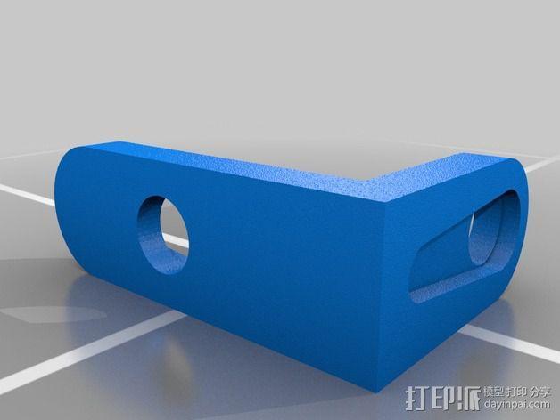 Gizmo四足机器人 3D模型  图5