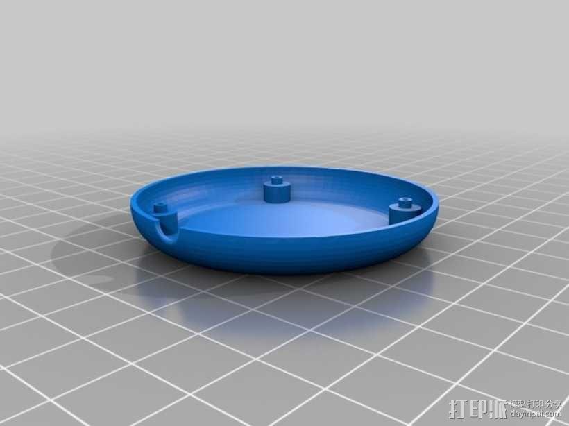 APM 2.6 GPS模块外壳 3D模型  图2
