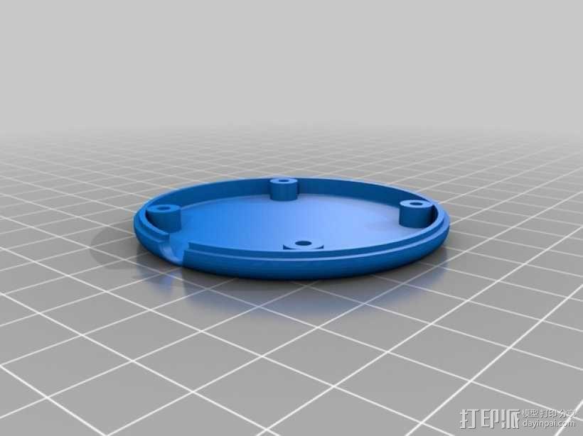 APM 2.6 GPS模块外壳 3D模型  图3