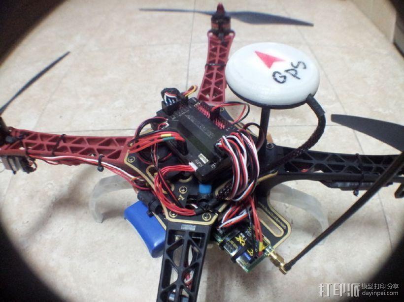 APM 2.6 GPS模块外壳 3D模型  图10