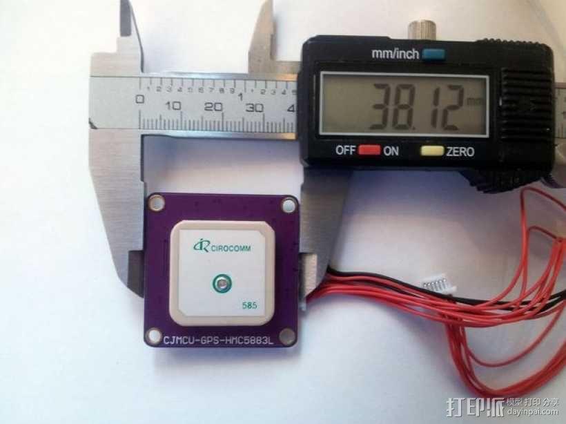 APM 2.6 GPS模块外壳 3D模型  图11