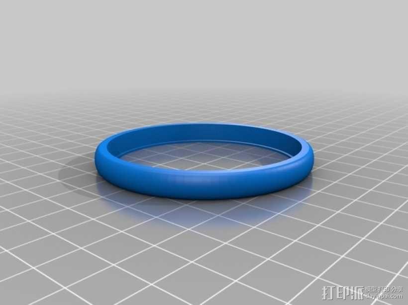 机器人 车轮和轮胎  3D模型  图3