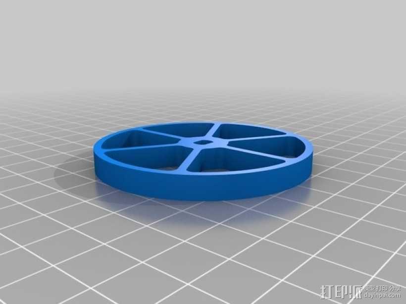 机器人 车轮和轮胎  3D模型  图2