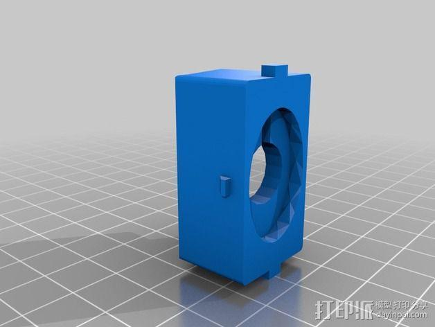 开关盒 3D模型  图2