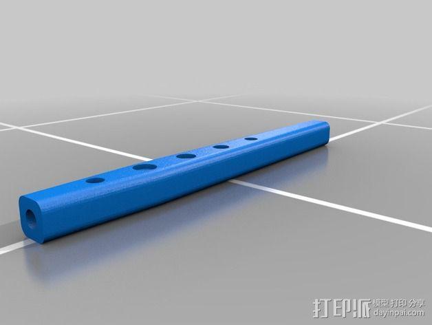 Axial SCX10遥控赛车 下控制臂 3D模型  图2