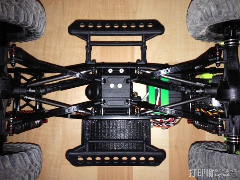 Axial SCX10遥控赛车 下控制臂 3D模型  图5
