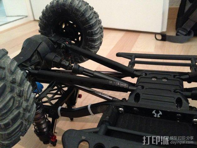 Axial SCX10遥控赛车 下控制臂 3D模型  图4