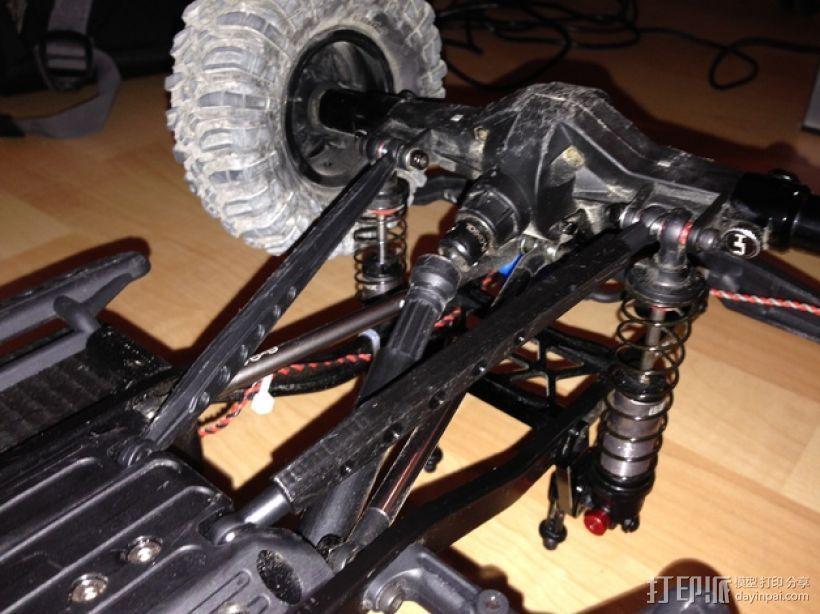 Axial SCX10遥控赛车 下控制臂 3D模型  图6