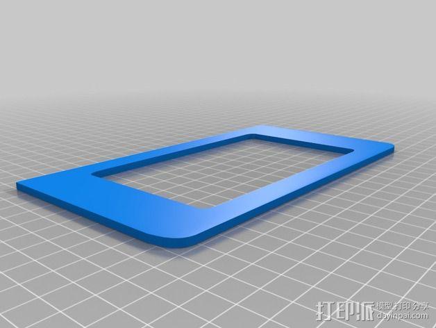 LED显示屏边框 3D模型  图3