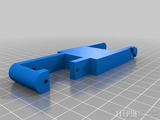 TISJ1人形机器人 3D模型  图5
