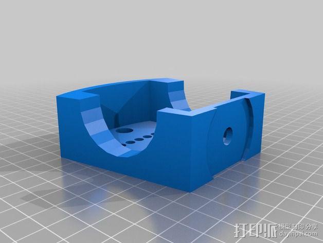 TISJ1人形机器人 3D模型  图8