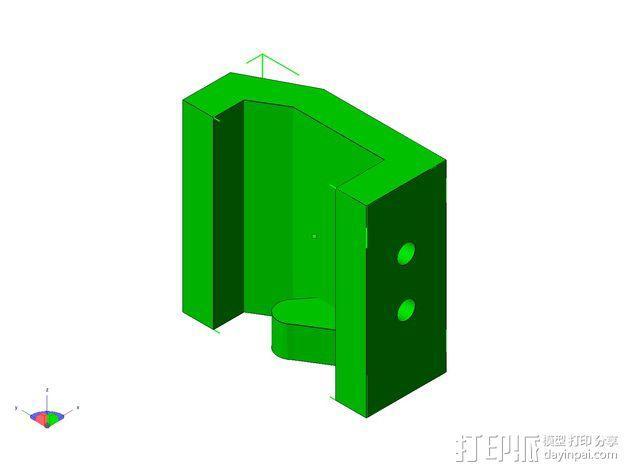 TISJ1人形机器人 3D模型  图9