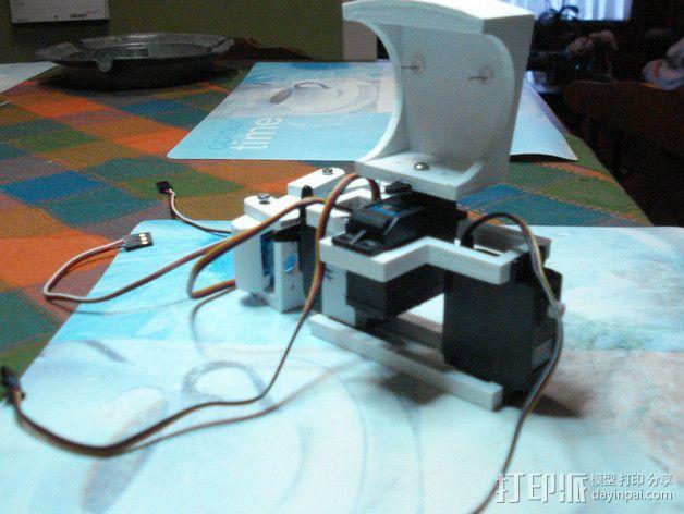 TISJ1人形机器人 3D模型  图12
