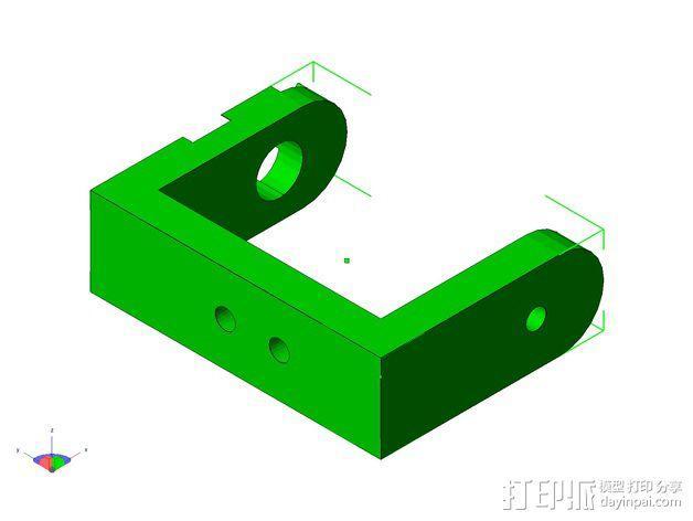 TISJ1人形机器人 3D模型  图11