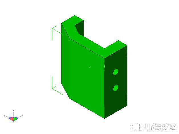 TISJ1人形机器人 3D模型  图15