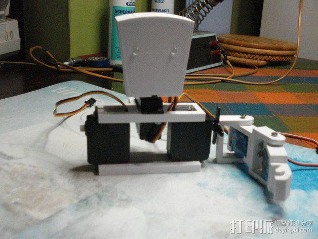 TISJ1人形机器人 3D模型  图13