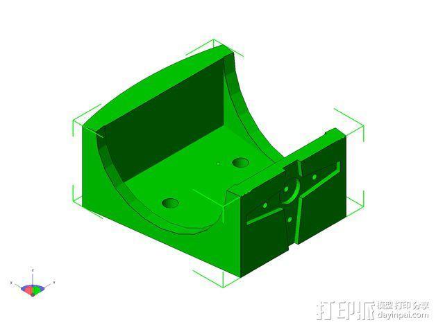 TISJ1人形机器人 3D模型  图14