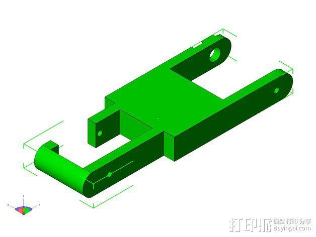 TISJ1人形机器人 3D模型  图21