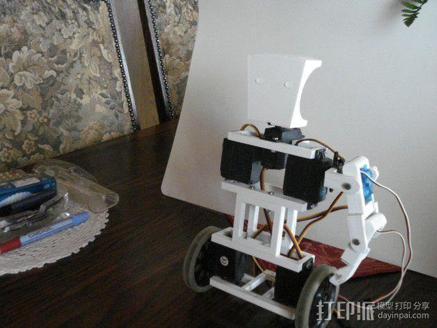 TISJ1人形机器人 3D模型  图19