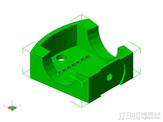 TISJ1人形机器人 3D模型  图24