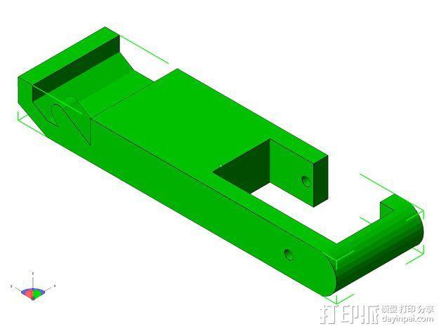 TISJ1人形机器人 3D模型  图22