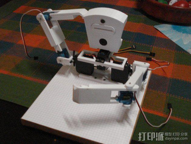 TISJ1人形机器人 3D模型  图26