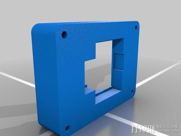 Makita锂离子电池 底座 3D模型  图2