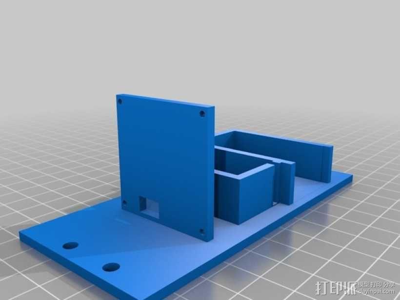 FPV遥控越野车 支架 3D模型  图2