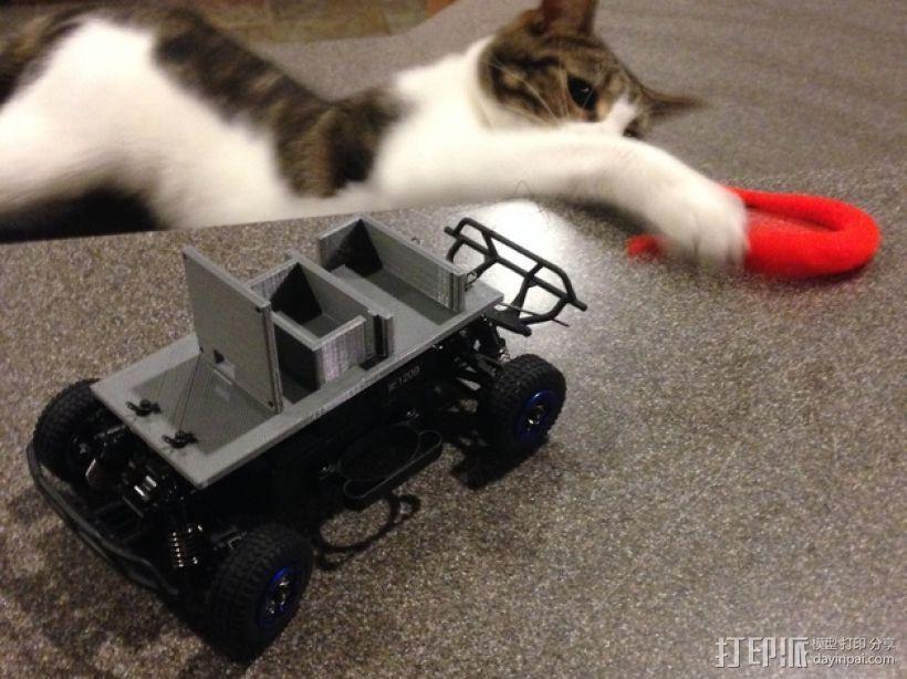 FPV遥控越野车 支架 3D模型  图1