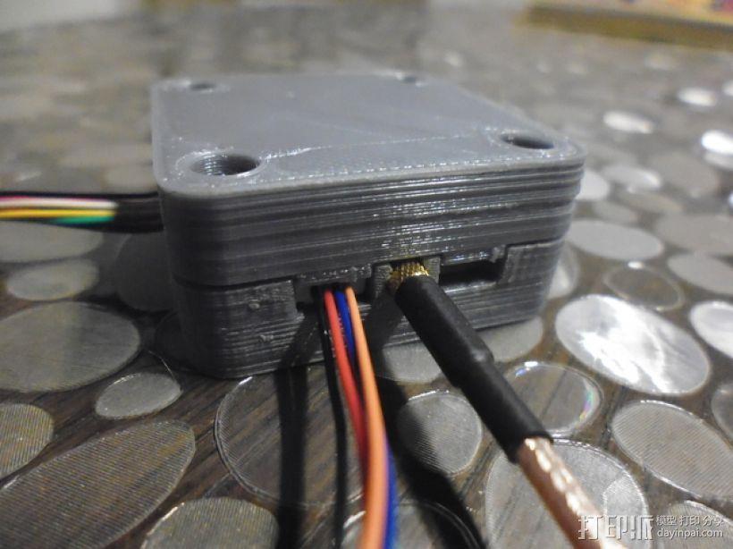 OpenPilot电路板外壳 3D模型  图1