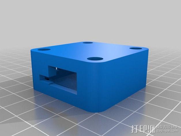 OpenPilot电路板外壳 3D模型  图2