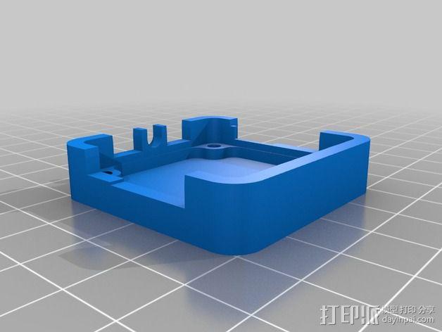 OpenPilot电路板外壳 3D模型  图3