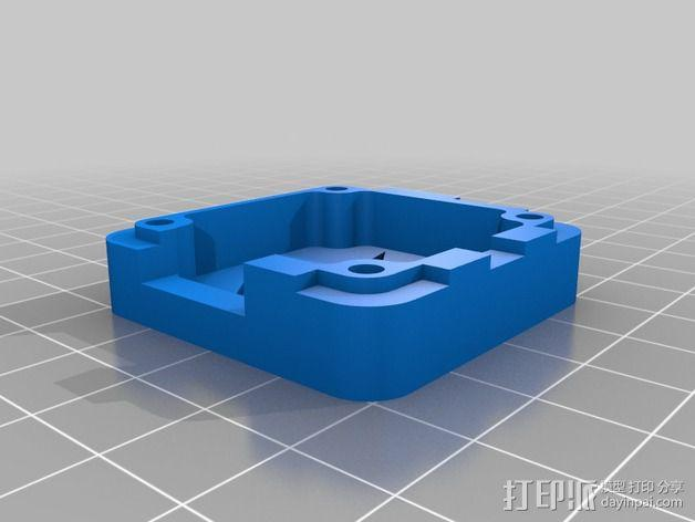 OpenPilot电路板外壳 3D模型  图4