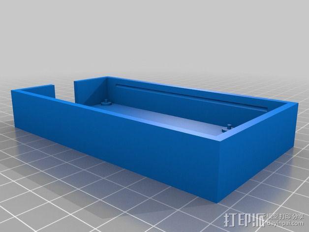 Atmel AVR程序编程器外壳 3D模型  图3