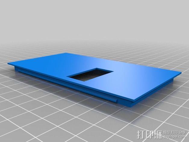 Atmel AVR程序编程器外壳 3D模型  图2
