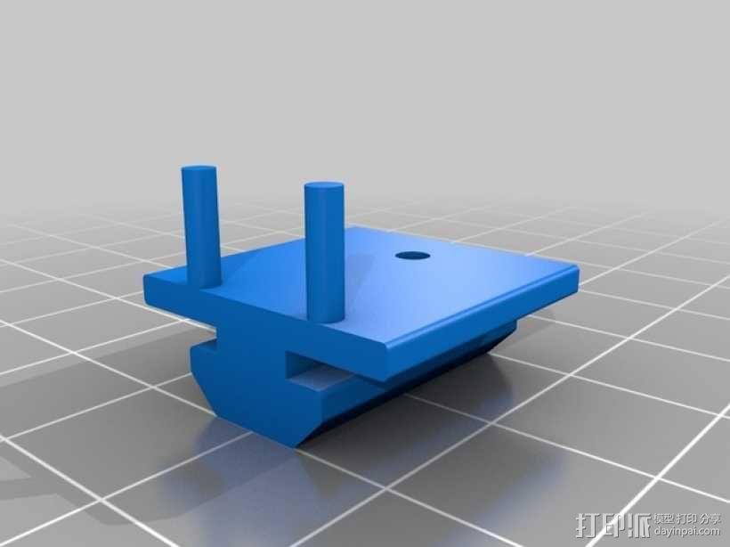 发泡胶切割机 3D模型  图2
