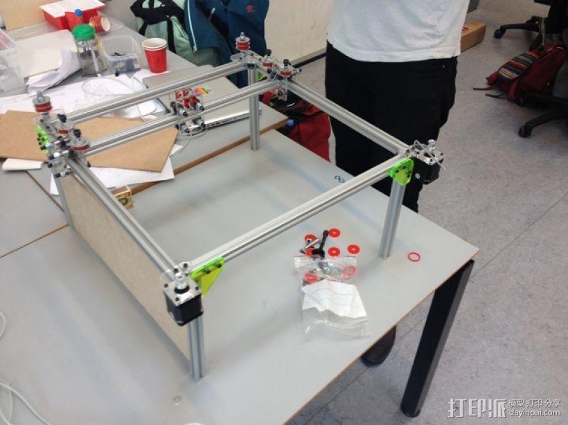 发泡胶切割机 3D模型  图3