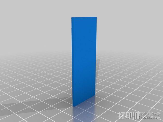 3dr数传模块 外壳 3D模型  图3