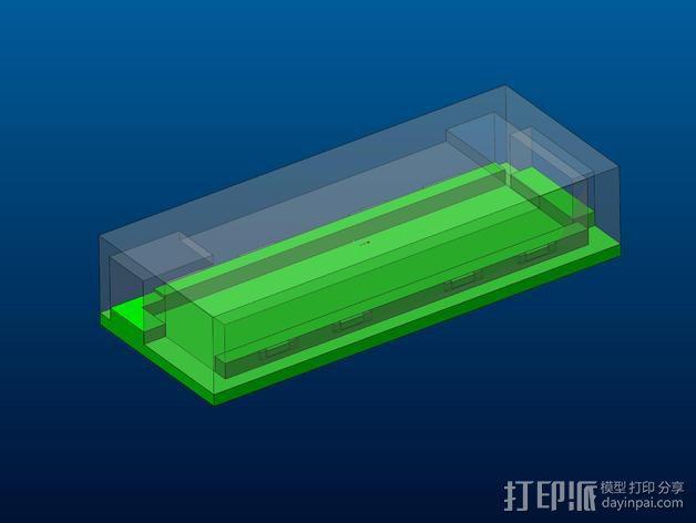 3dr数传模块 外壳 3D模型  图2