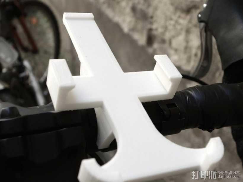 自行车 iPhone5手机架 3D模型  图1