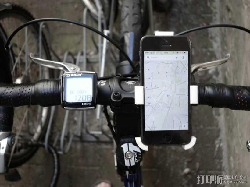 自行车 iPhone5手机架 3D模型  图4
