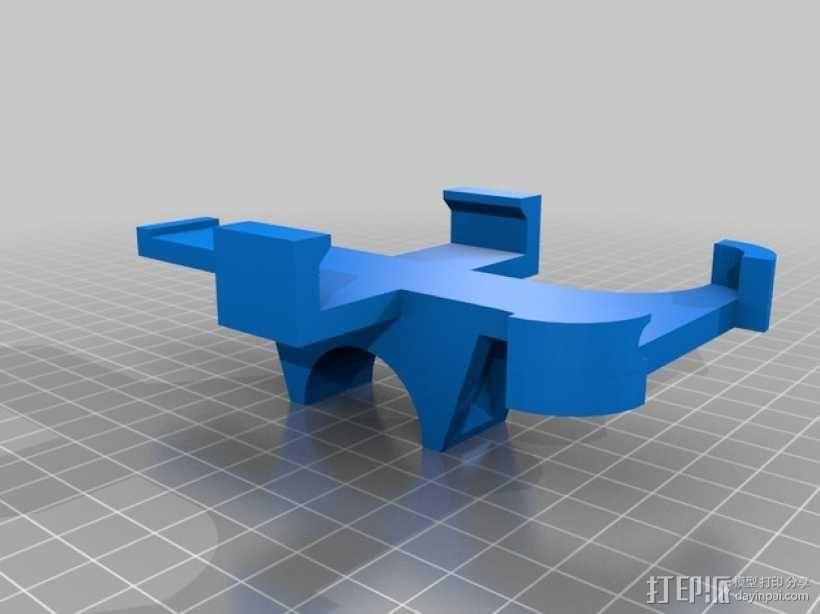 自行车 iPhone5手机架 3D模型  图3