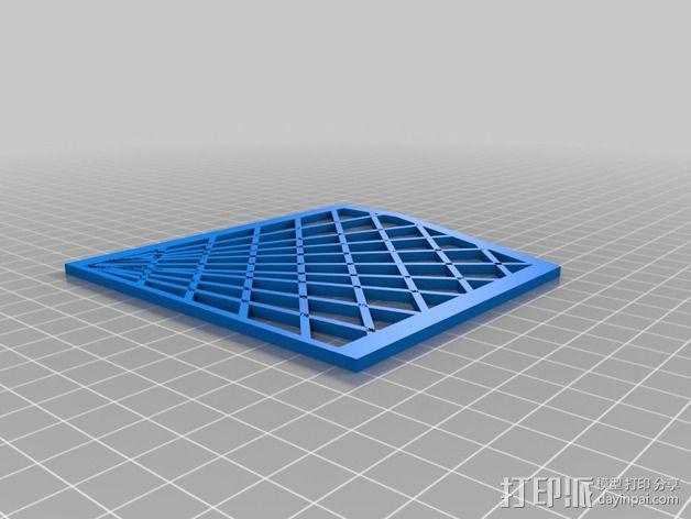 Inmoov机器人 线缆保护罩 3D模型  图3