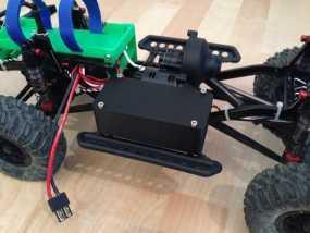 Axial SCX10遥控攀爬车 LED灯控制器 3D模型
