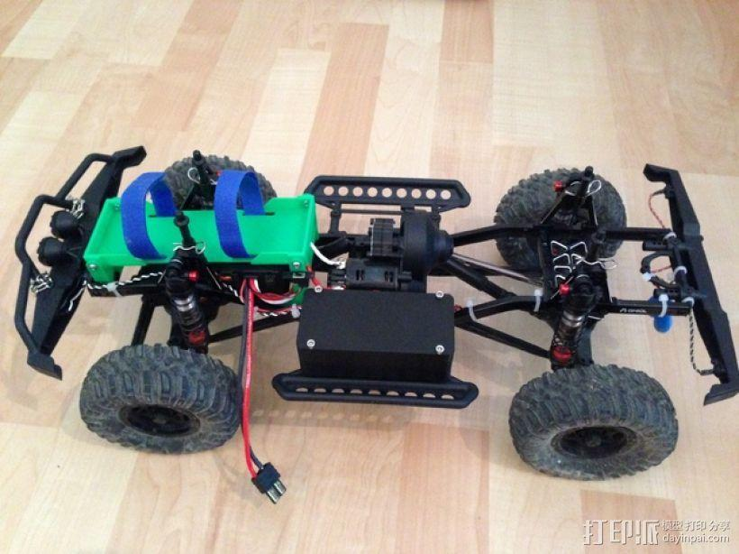 Axial SCX10遥控攀爬车 LED灯控制器 3D模型  图10